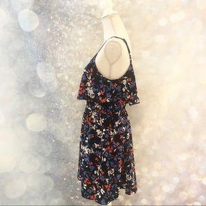 ELLE • floral sundress with flouncy top